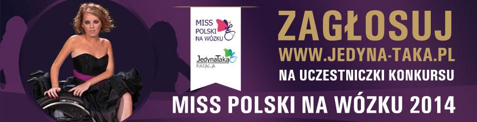 Zaglosuj na uczestniczki konkursu Miss Polski na wozku 2014